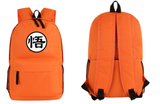Dragon Ball Goku Symbol Awesome Design School  4 Colors Backpack - DBZ Saiyan