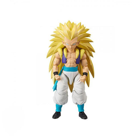 Dragon Ball Z Yellow-Haired SSJ3 Gotenks Action Figure - DBZ Saiyan