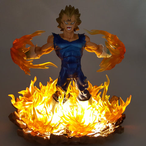 DBZ Evil Majin Vegeta Super Saiyan Super Explosive Wave DIY 3D Light Lamp - DBZ Saiyan