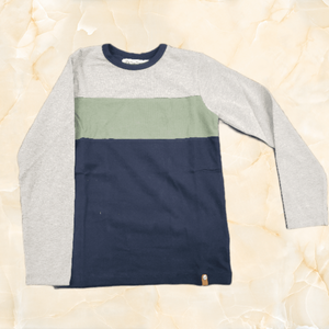 Tri-Colour Long Sleeve Tee