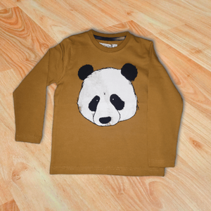 Long Sleeve Panda Shirt
