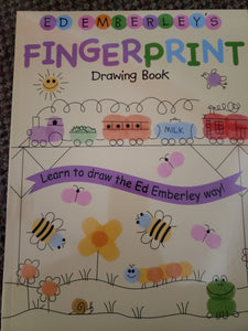 Fingerprint Drawing Book