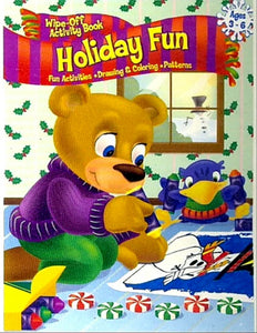 Holiday Fun Wipe-Off Activity Book