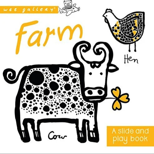 Farm Slide and Play Book