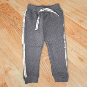 Grey Jogging Pants With Sparkles