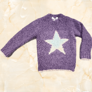 Star Fuzzy Sweater