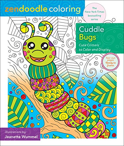 Zendoodle Coloring Cuddle Bugs