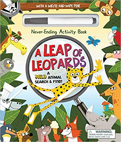A Leap of Leopards - A Wild Animal Search and Find
