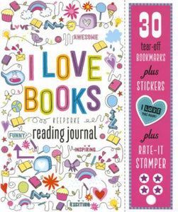 I Love Books - Reading Journal