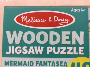 Melissa And Doug wooden Jigsaw puzzles