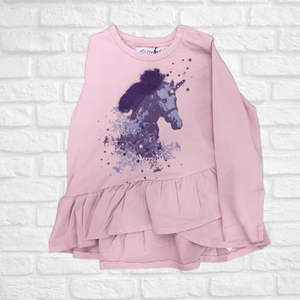 Pink Long Sleeve With Unicorn