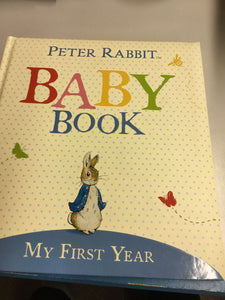 Peter rabbit baby buck my first year