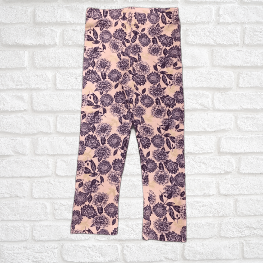 Floral Patterned Leggings
