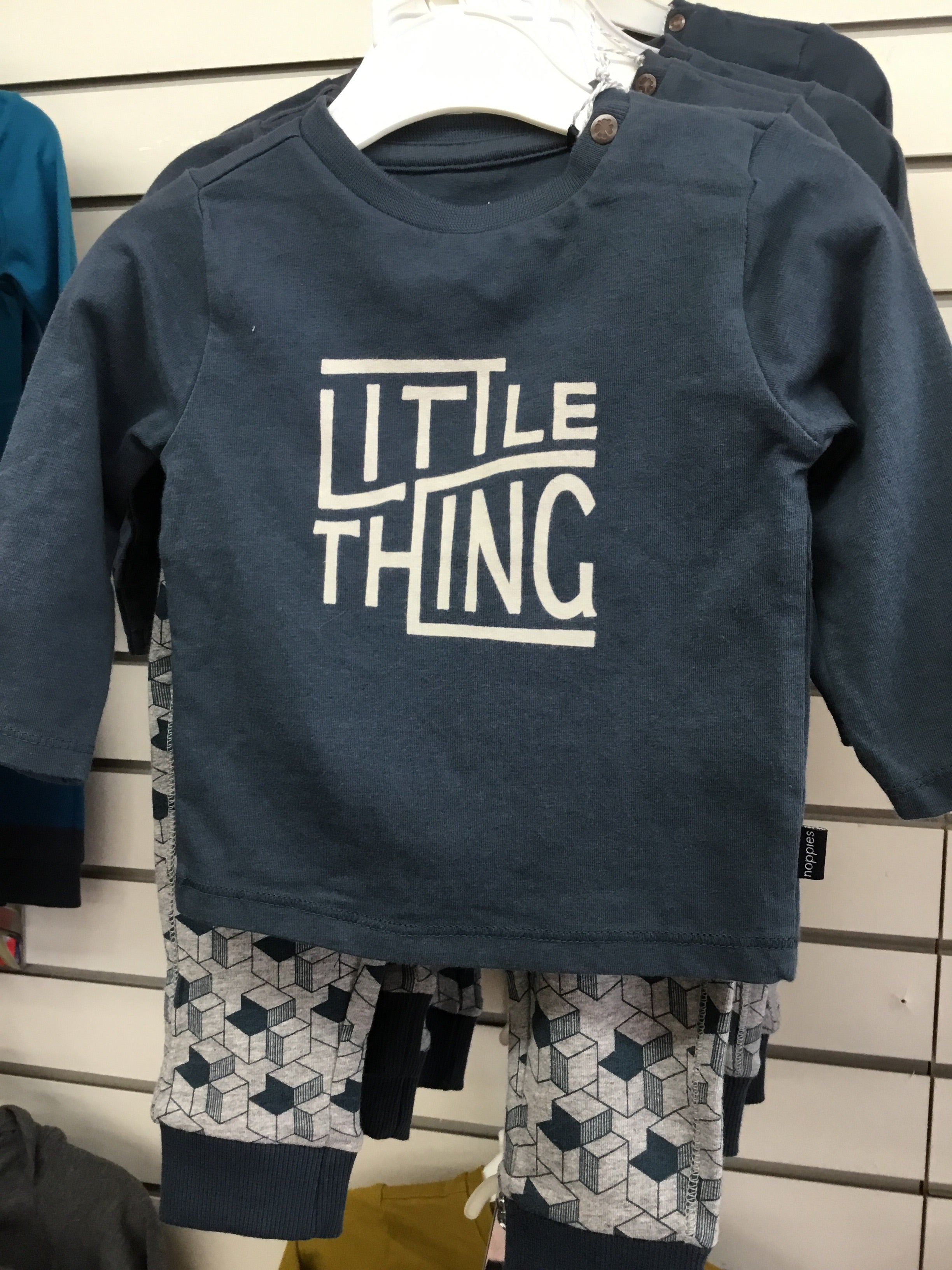 NOPPIES BABY LITTLE THING OUTFIT