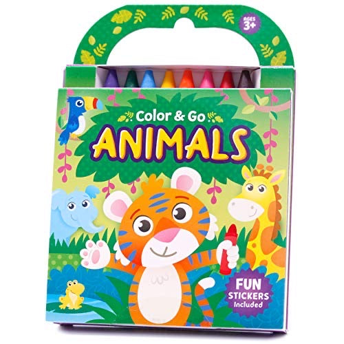 Colour And Go Animals