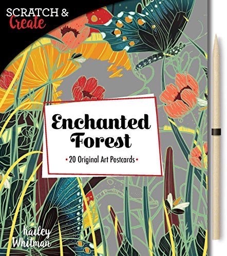 Etch Art Enchanted Garden