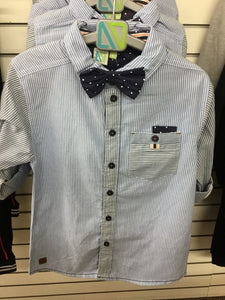 Striped Casual Dress Shirt