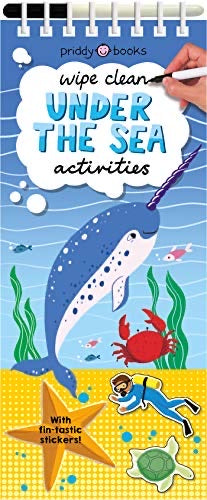 Wipe Clean Under The Sea Activities