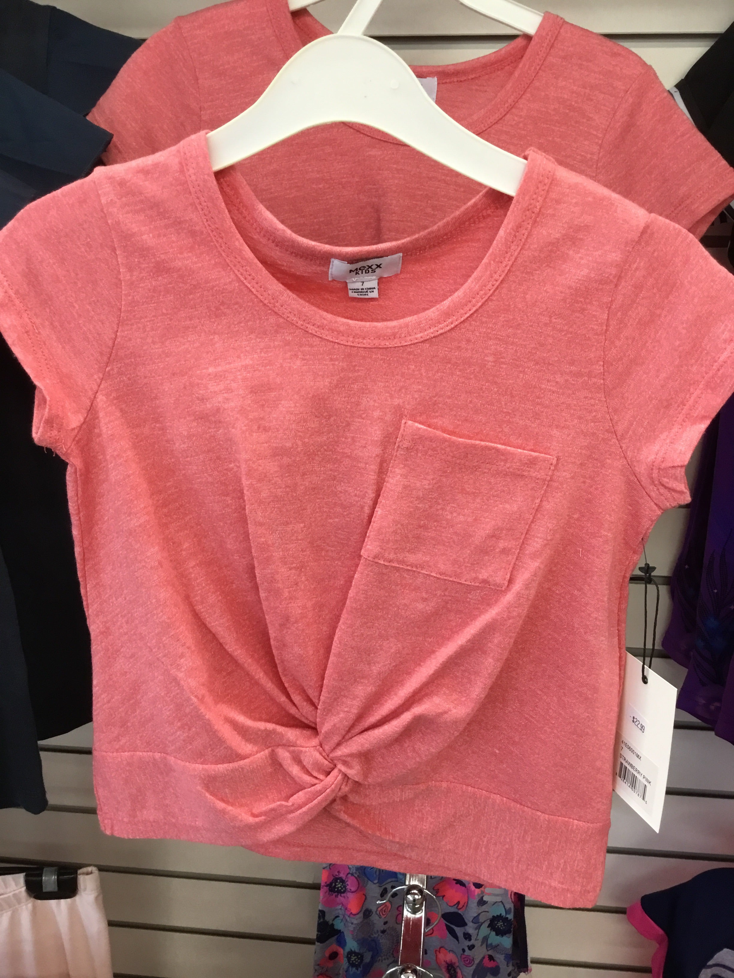 Strawberry Pink Tee