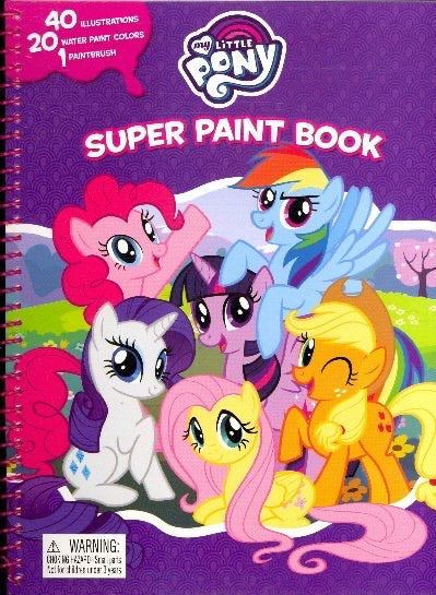 My Little Pony Super Paint Book