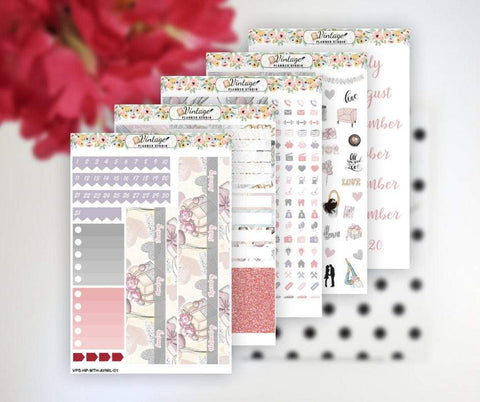 All You Need Is Love Monthly Kit | Classic Happy Planner - Vintage Planner Studio