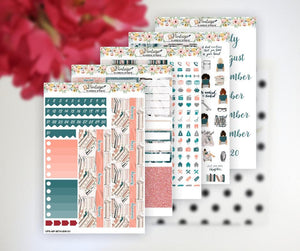 Bookworm Life Monthly Kit | Classic Happy Planner - Vintage Planner Studio