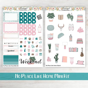 No Place Like Home Mini Kit - Vintage Planner Studio