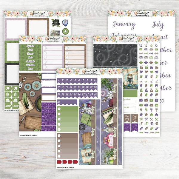 Potioneer Monthly Kit | Classic Happy Planner - Vintage Planner Studio