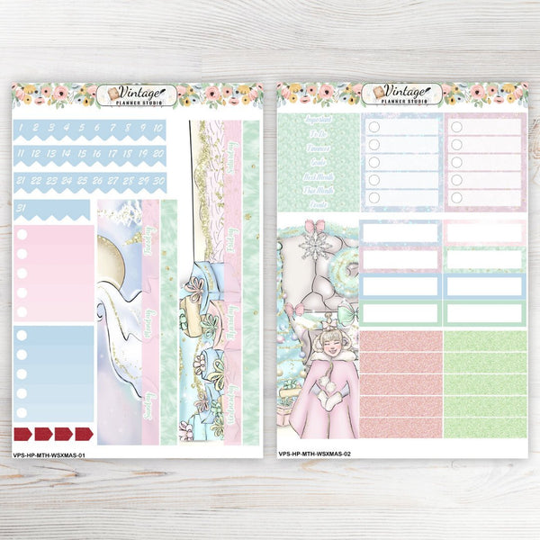 Who Stole Christmas Monthly Kit | Classic Happy Planner - Vintage Planner Studio