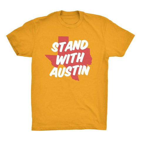 Stand with Austin 6th - Oh Boy Printshop