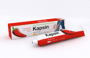 Kapsin ointment with pepper extract and propolis