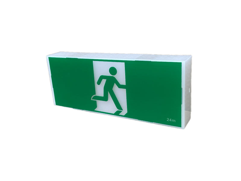 EXBOXL LED Classic Box Exit Body Only DBOXW | E&E Lighting Australia