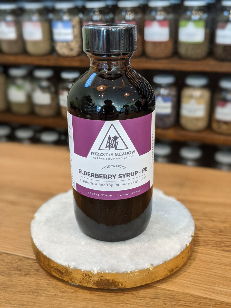 Elderberry Syrup - PB