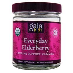 Everyday Elderberry Gummies (Gaia)