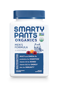 Smarty Pants Organic Multi Gummies - Men's