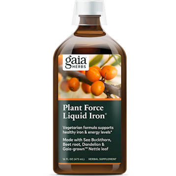 Gaia PlantForce Liquid Iron 16 oz