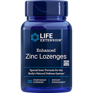 Enhanced Zinc Lozenge (Life Extension)