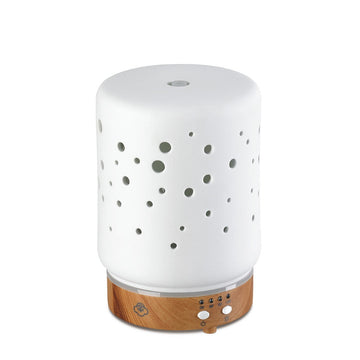Starlight White Ceramic Ultrasonic Aromatherapy Diffuser