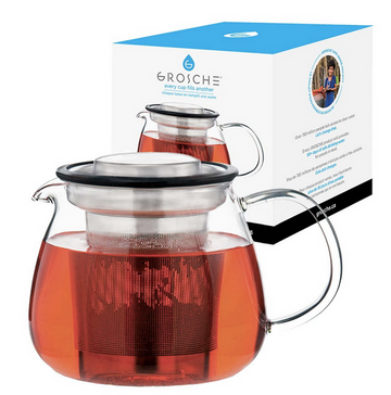Waterloo Infuser Teapot by Grosche