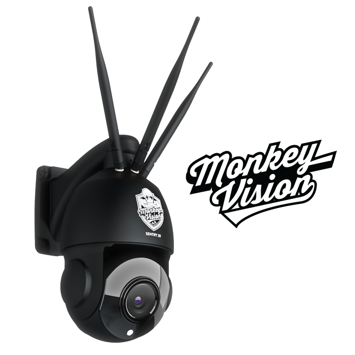 SENTRY 20 - 4G Security Camera by Monkey Vision