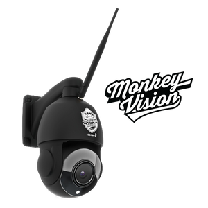 SENTRY 5 WIFI - Pan Tilt Zoom Wifi Security Camera by Monkey Vision Optimised for Australia