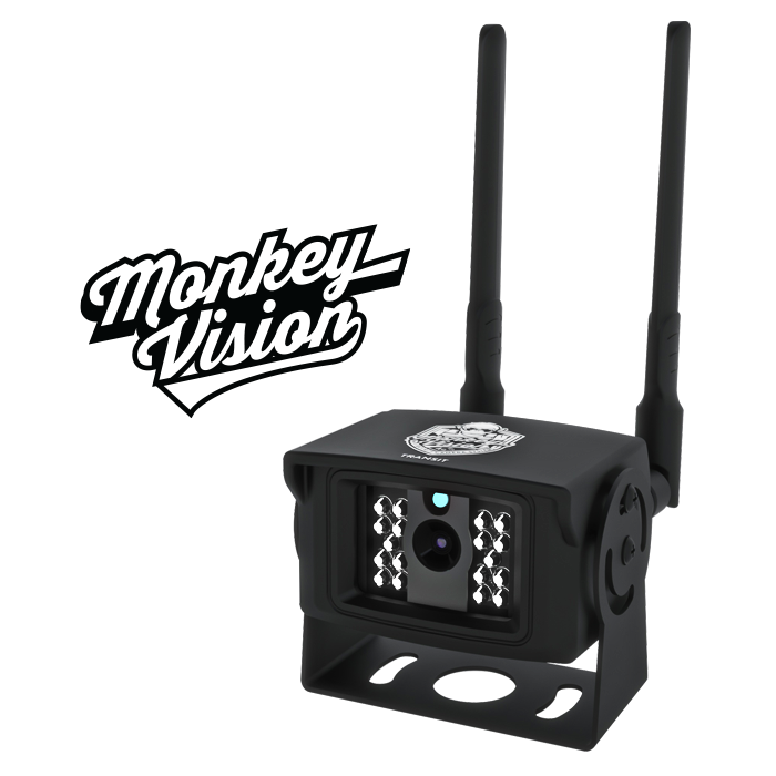 TRANSIT - 4G In-Vehicle Security Camera by Monkey Vision  - Includes $306 of 4G Streaming Value