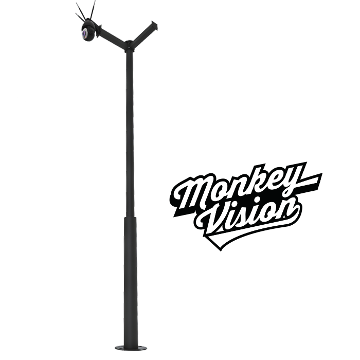 TREE - Modular Camera and Solar Kit stand by Monkey Vision