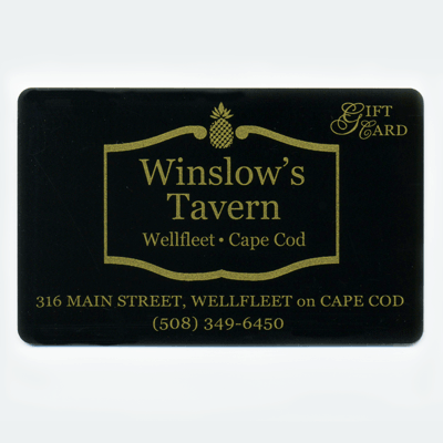Winslow's Tavern Gift Card