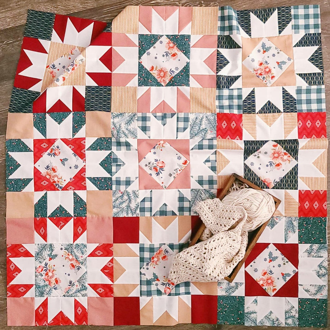 Holiday Agnes Quilt Kit - Multiple Sizes