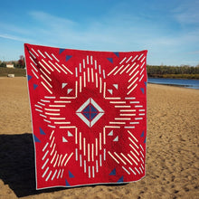 Load image into Gallery viewer, Solar Flare Quilt Kit