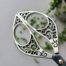 Load image into Gallery viewer, Butterfly Embroidery Scissors- Silver