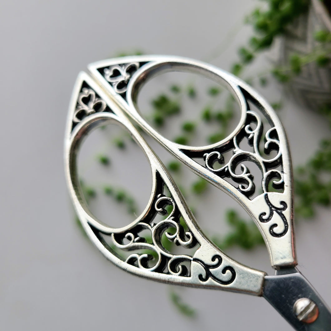 Butterfly Embroidery Scissors- Silver