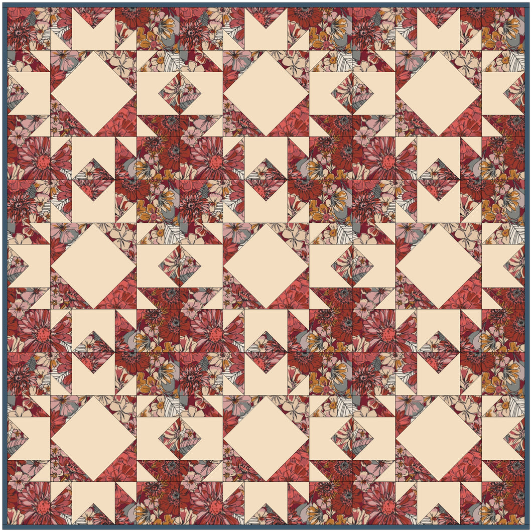 Agnes - Kismet Quilt Kit - Multiple Sizes
