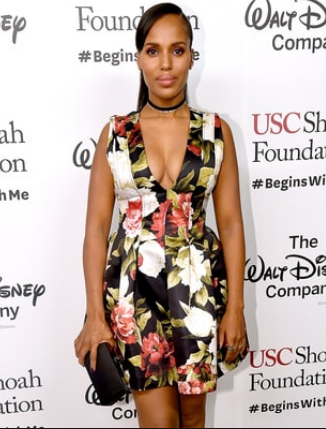 Kerry Washington on the Red Carpet